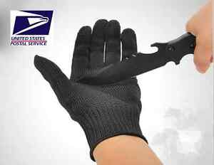USA Stock! Kevlar Working Protective Cut-Resistant Anti Abrasion Gloves
