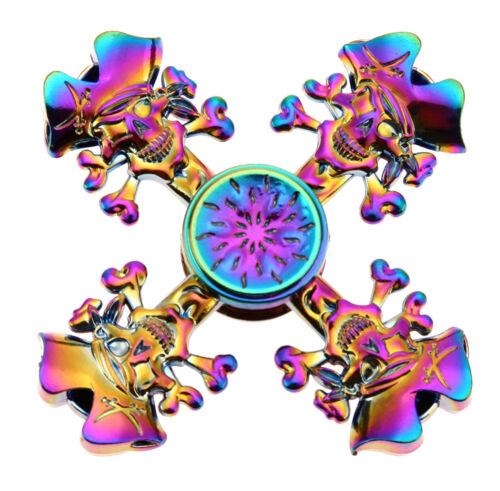 Rainbow Bangers Spinner Jouet en métal Spin Focus fête d/'anniversaire main TDAH Jouet Cadeau