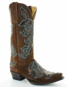 9ba9f11af05 Details about Old Gringo Women's Conifer Western Boots Tobacco YL299-1