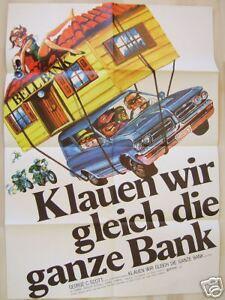 KLAUEN-WIR-GLEICH-DIE-GANZE-BANK-George-C-Scott-Filmplakat-A1