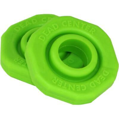 """Accessories 2 Pack-green Strengthening Waist And Sinews Sporting Goods Dead Center Dead Center Stabilizer Silencer Fits 3/4"""" Stabilizers"""