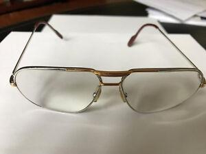b51ea205a388 Image is loading Original-c1988-Vintage-CARTIER-TANK-L-C-Eyeglasses-PLATINE-