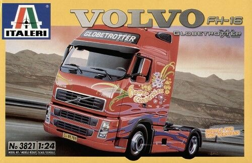 Italeri 1 24 Volvo Fh-16 Globetrojoter XL  3821