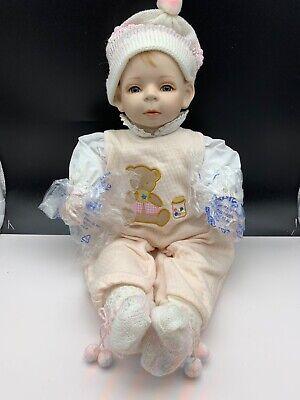 Top Zustand Fine Craftsmanship Dolls & Bears Dolls Amiable Künstlerpuppe Porzellan Puppe 50 Cm