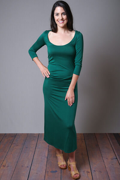 New  211 Rachel Pally 3 4 Sleeve Amelie Dress S