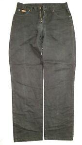 Neuf Borrelli Vintage de Luxe Solide Marron Extensible Jeans 30 X 33 Jeans Hommes: vêtements
