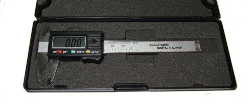 """ATTREZZI RDG 0-75mm 0-3 /""""LCD DISPLAY DIGITALE Vernier PINZA FRENO strumenti di misurazione"""