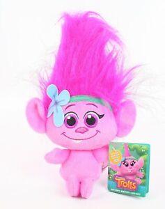 TROLLS-plush-BABY-POPPY-12-034-soft-toy-Hug-039-N-Plush-DreamWorks-movie-NEW