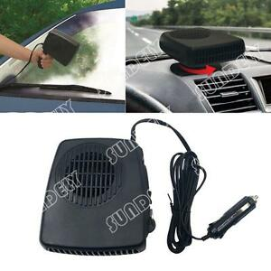 12v 2in1 car portable ceramic heating cooling dry heater fan defroster demister ebay. Black Bedroom Furniture Sets. Home Design Ideas