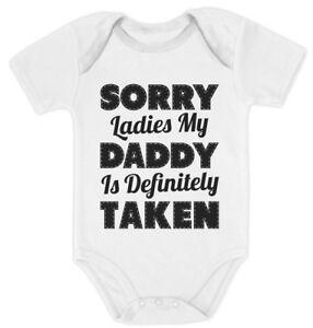 Today Im My Daddys Problem Funny Babygrow Baby vest Bodysuit Gift Present