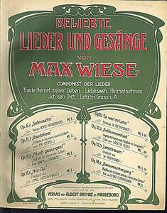 034-Gonedoliera-034-Lied-von-Max-Wiese-Op-11-1-uebergrosse-alte-Noten