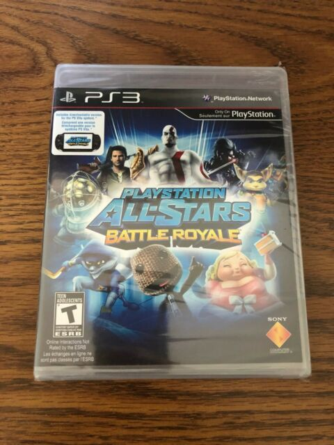 Factory Sealed Playstation All-Stars Battle Royale PS3 NTSC-U/C