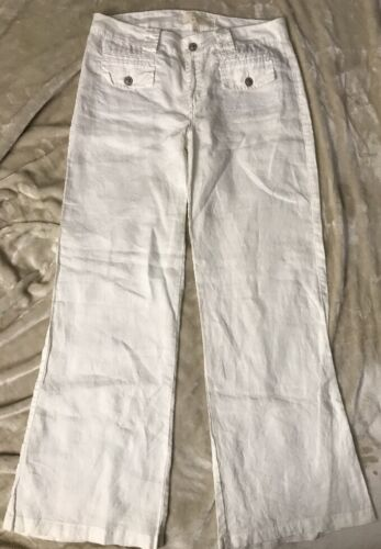 Twisted Heart  Women's Linen  Wide Pants Size 29