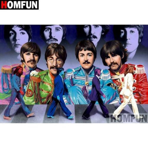 5D Diamond Painting The Beatles Kit