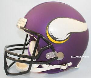 f3ad304f Details about MINNESOTA VIKINGS - Riddell Full-Size VSR4 Authentic Helmet