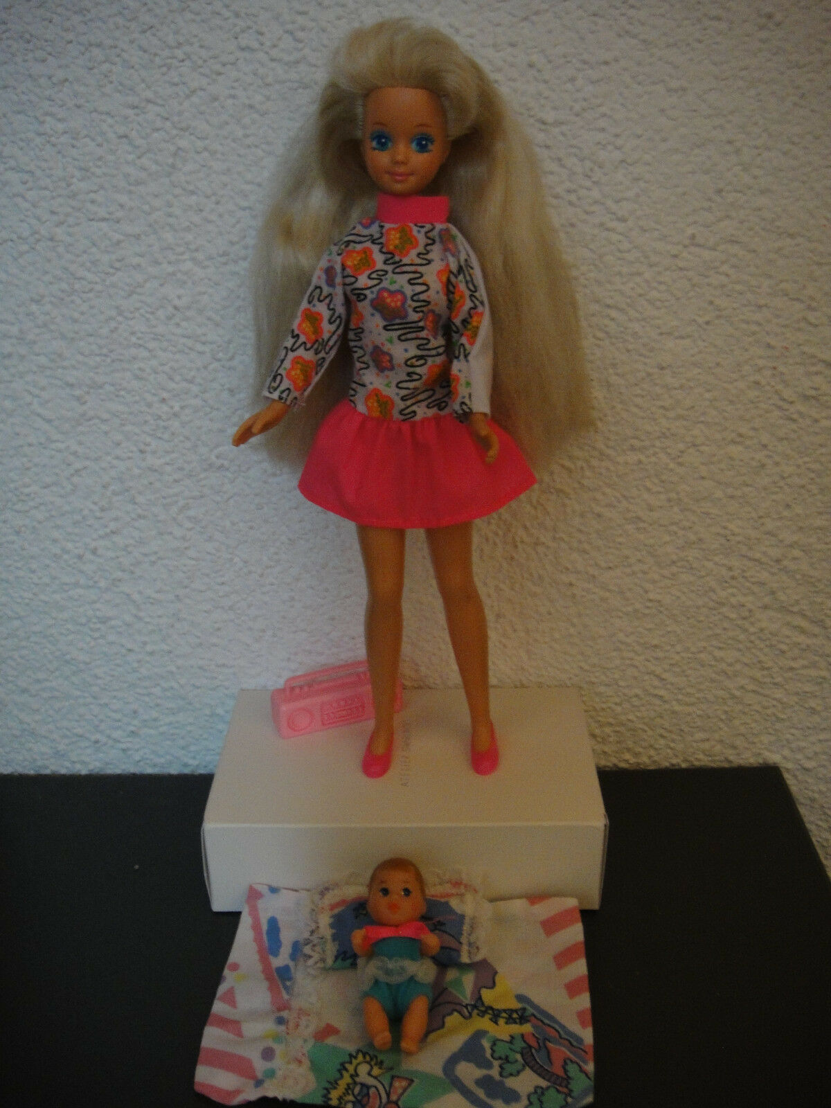 Mattel Barbie Babysitter SKIPPER Doll (1990) in Teen Time Fashion 1994 Outfit