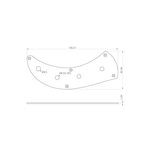 WD Music Precision Bass Control Plate