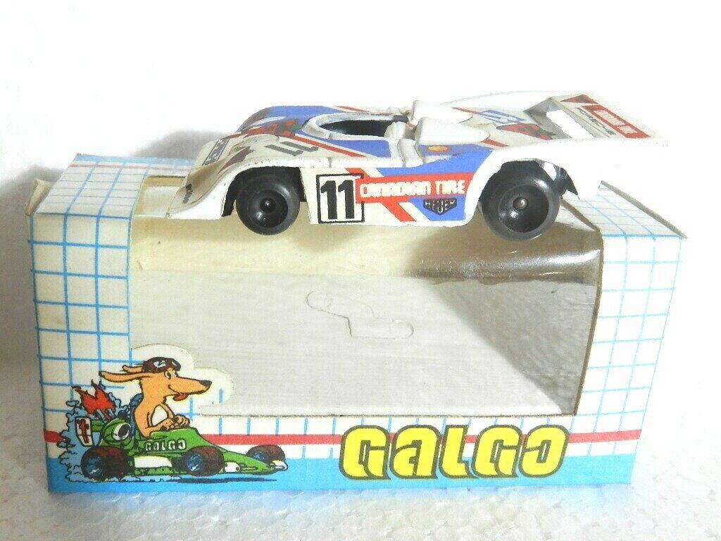 Sport predotype DIE-CAST METAL BRAND GALGO 1980'S SCALE 1 64 64 64 nº 11 porsche MIB 14cabe