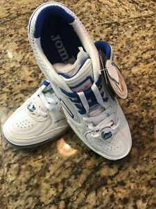 1218a6fc5 Image is loading Joma-Flex-602-White-Royal-Indoor-Soccer-sala