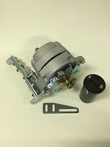details about new willys jeep alternator one 1 wire 12v 65a, 5 8\