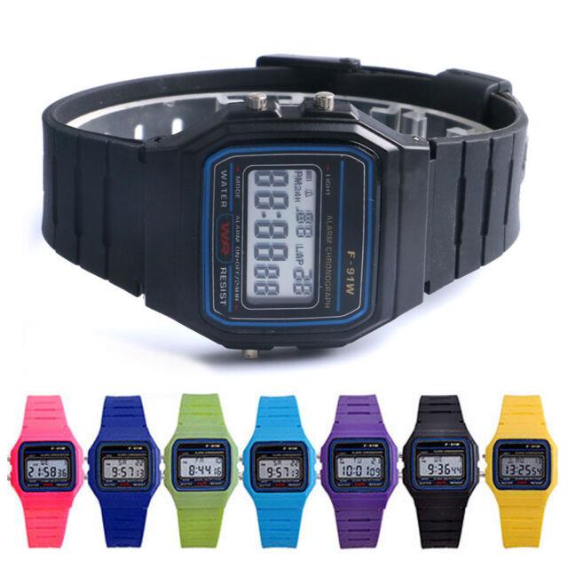Unisex Multifunction Electronic LED Digital Wristwatch Child Sport Wrist Watch