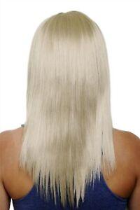 Clip-In-Postiche-5-Attache-3-4-Perruque-Clair-Blond-Cendre-Env-50cm-HD1401-22