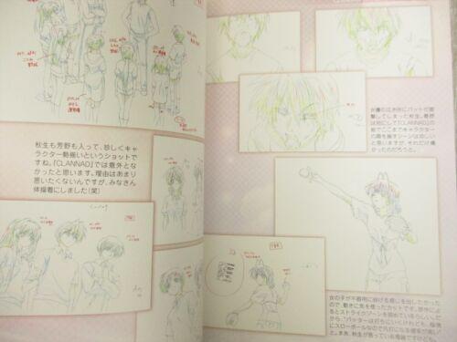 CLANNAD After Story Gengashu 1 Art Design Works Illustration Book Ltd Booklet