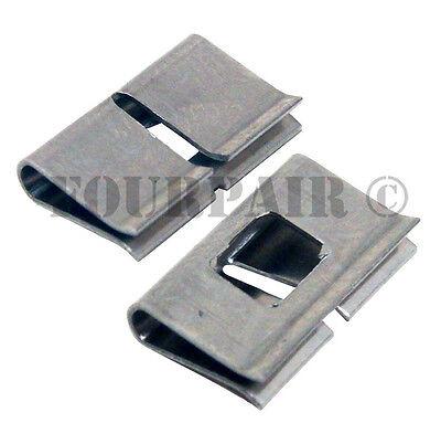 100 Pack unbranded 66 block Stainless Steel Metal Bridging Clips