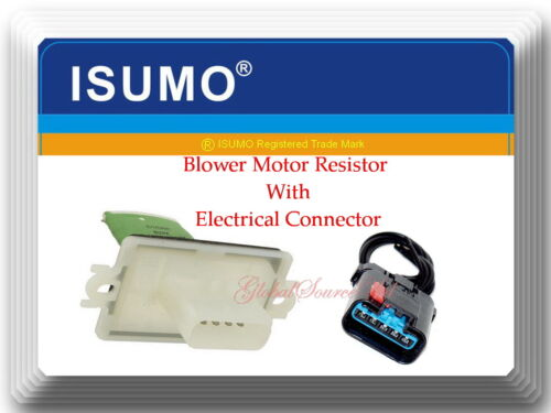 HVAC Blower  Resistor Motor W//Connector Fit Chrysler Aspen Dodge Dakota Durango