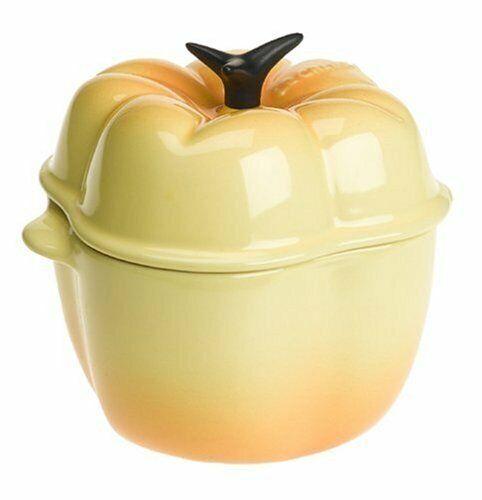Nuevo Le Creuset Citrus Pettite Pimienta cazuela de gres Cazuela 13 onzas nuevo con etiquetas