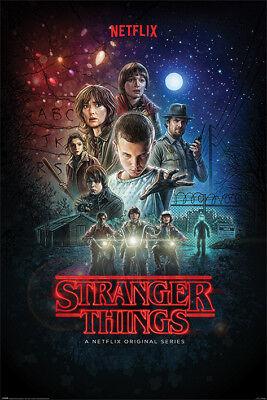 Gift Accessories Stranger Things Poster Netflix TV Show Art Print Frame