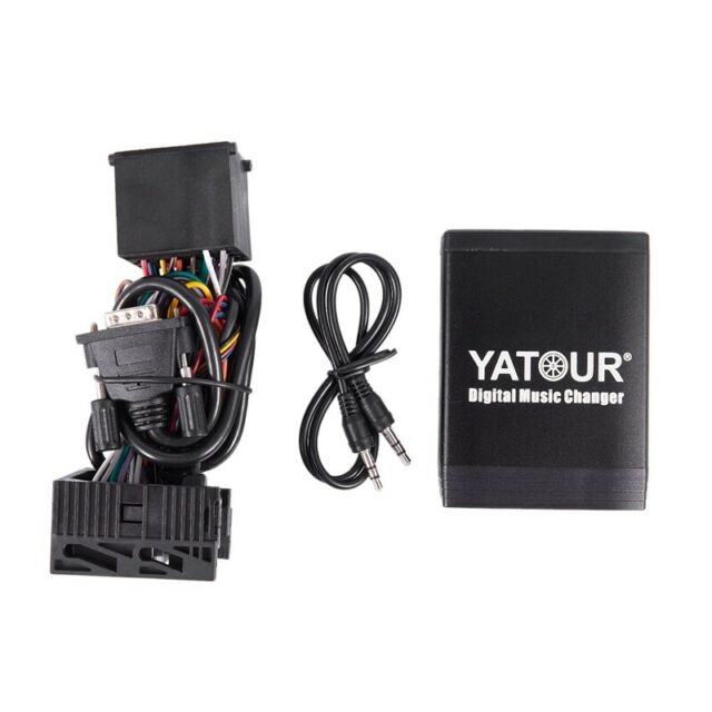 1X(YATOUR Music Changer for 17pin BMW E36 E46 E39 E38 /Bmw K1200lt/compact G2A6