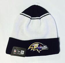 Baltimore Ravens Knit Beanie Winter Hat Toque Skull Cap - NE Cuffed