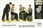 Masterbox - Skat giocatori German Tankman giocare carte Modello kit - 1:35