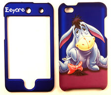 Eeyore Blue Apple iPod Touch 4 4G Rigid Case Cover Snap On