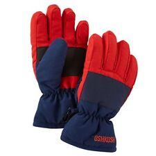 New OshKosh Ski Gloves Winter Glove size 4-7 year Kid Boy NWT Red Navy Blue