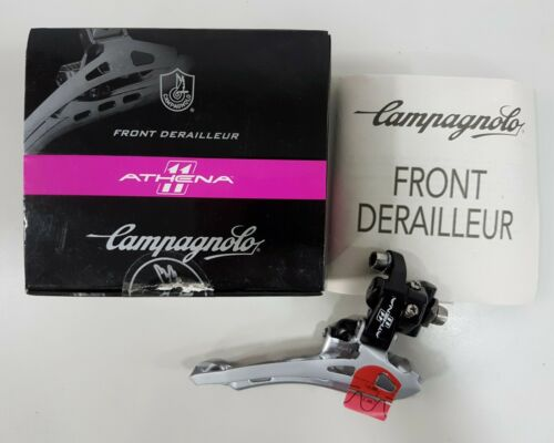 Campagnolo FD12-ATB2B Athena 11 Speed Bicycle Front Derailleur Black