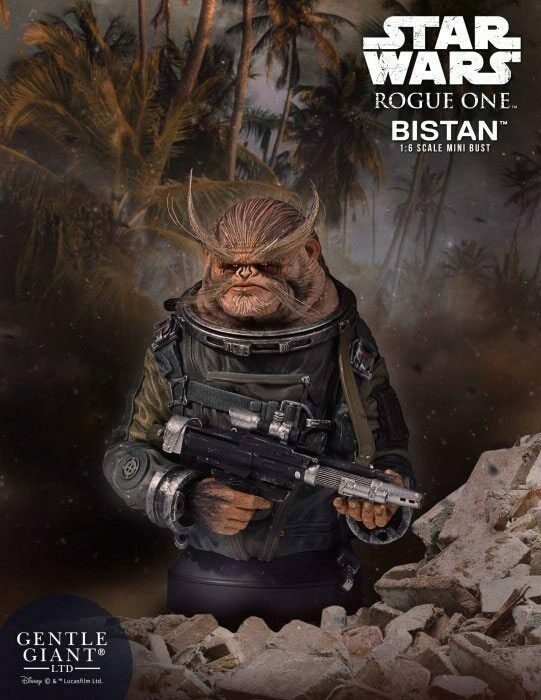 Star Wars Rogue One Bust 1 6 Bistan Gentle Giant