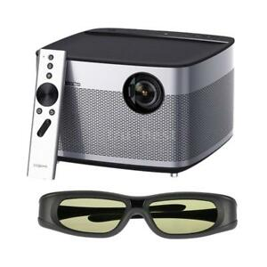XGIMI H1 DLP Android 5.1 Portable Projector + Gonbes G05-BT 3D TV Glasses D9F8