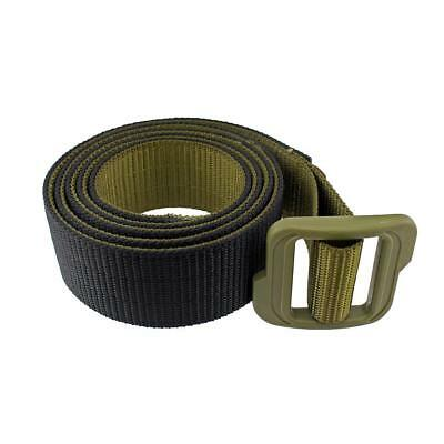 Tactical Outdoor Military Double-sided Nylon Duty Belt Black /& Coyote Brown