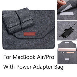 52bf80244aad Details about New Ultra Thin Laptop Sleeve Case Cover Bag For MacBook Air  Pro Retina 11 13 15