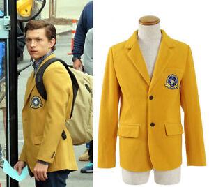 2017 Spider-man Homecoming Peter Parker Blazer School Uniform Cosplay Costume