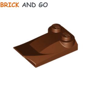 Lego 2x Brick Brique 2x3x2//3 Aile Wing 47456 reddish brown//marron//braun