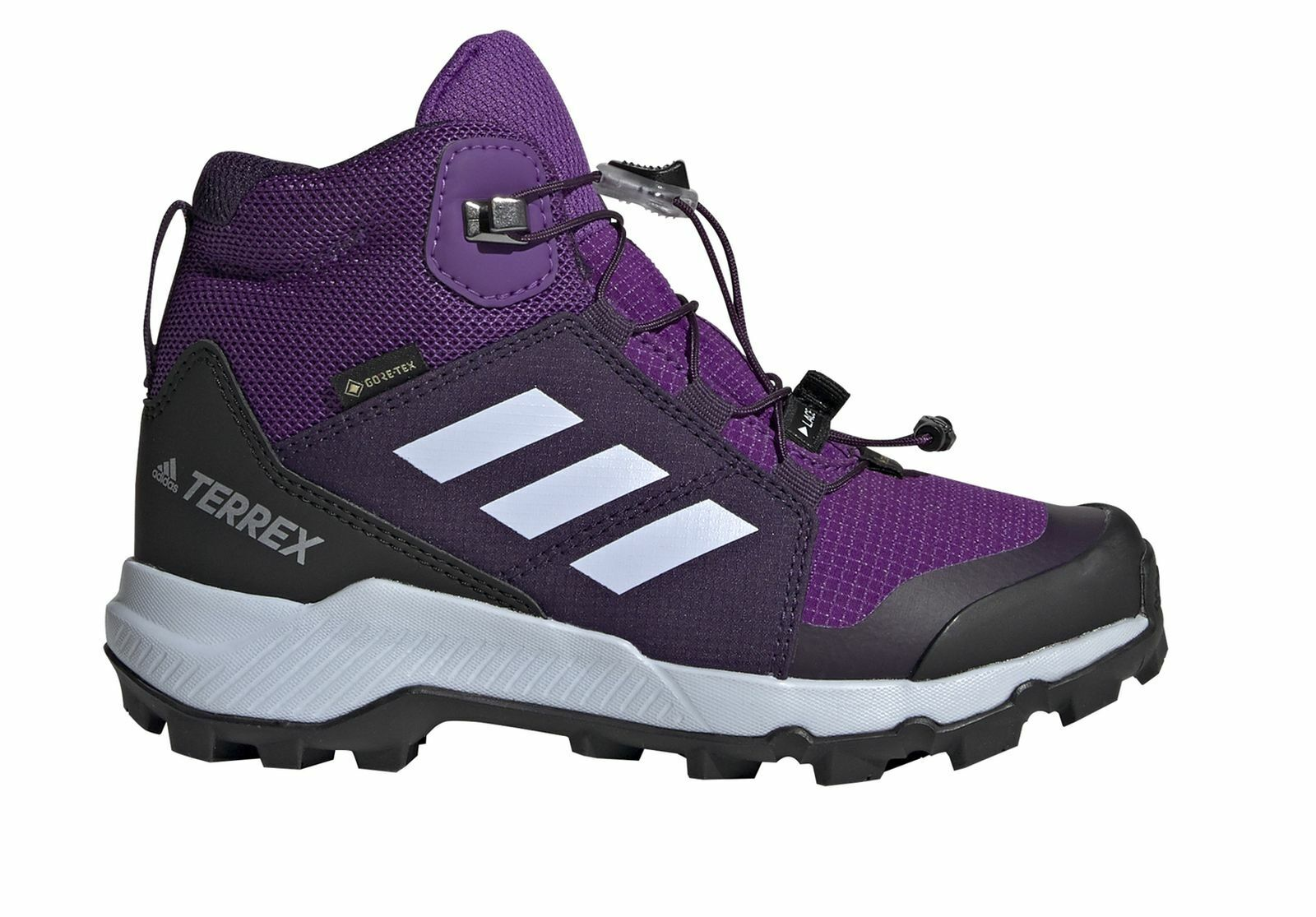 Adidas Performance Niños Zapato Al Aire Libre Terrex Mid GTX k Púrpura