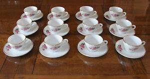Service-a-cafe-KG-LUNEVILLE-12-tasses-avec-soucoupes