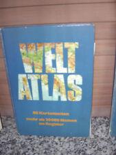 Welt Atlas, 80 Kartenseiten mehr als 20000 Namen im Reg