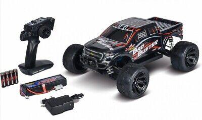Carson (tamiya Germania) 402127 Buster 4x4 1:10 Bad Pronto A Correre Monster Rc Auto-mostra Il Titolo Originale Asciugare Senza Stirare