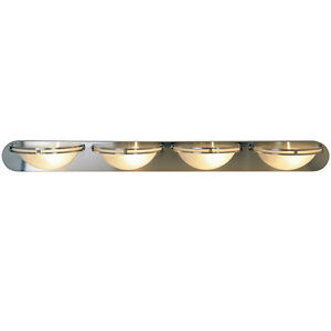 617609 contemporary style wall mount vanity light in brushed nickel