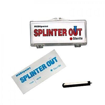 20 PK SPLINTER OUT BLOOD LANCET SPLINTER REMOVER FIRST AID SURVIVAL KIT ST823112