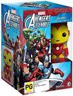 Avengers Assemble Season 1 Incl Iron Man Pop Vinyl DVD Movies Region 4 - DV